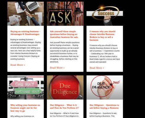 HowTheWebWasWon.biz Interbiz Business Brokers Articles