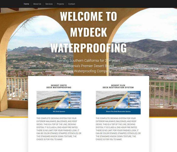 HowTheWebWasWon.biz-MyDeck-Waterproofing
